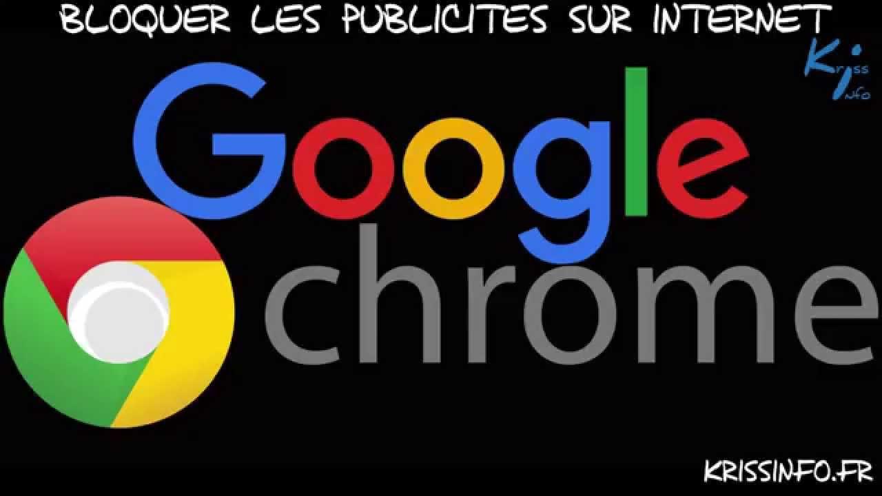 Bloquer les publicit s sur internet google chrome youtube for Bloquer les fenetre publicitaire google chrome