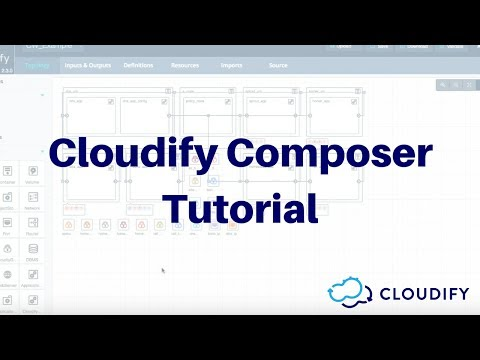 Cloudify Composer Overview Video