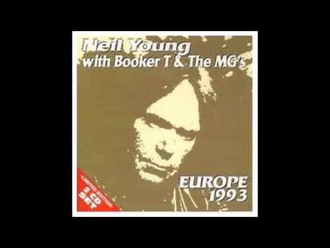"""Neil Young With Booker T & The MG's """"Europe 1993 """"  Limited Edition"""