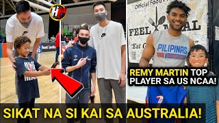 Kahit BATA kilala si Kai sa Australia! Sikat na sa Australia si Kai Sotto   Remy Martin UPDATE!