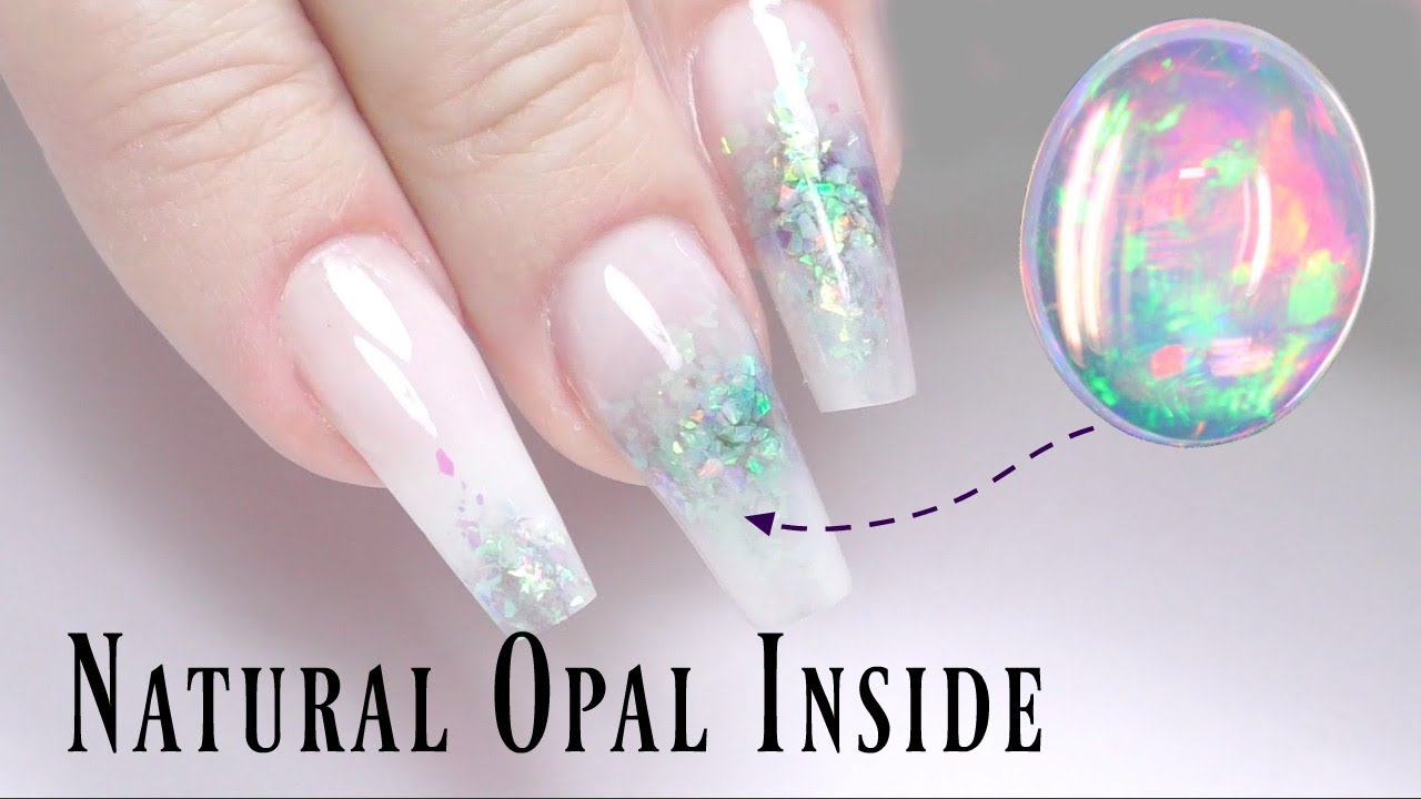 Natural Opal Nails Tutorial - One Dope Chick