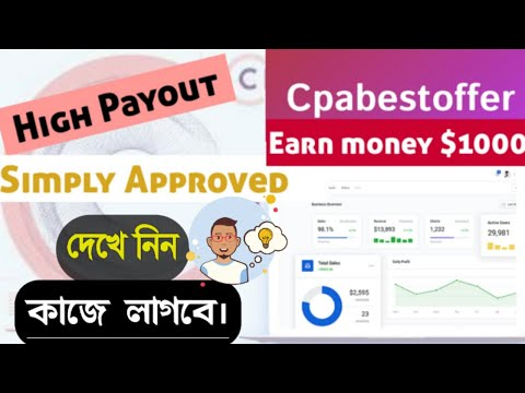 Approved    CPABestOffer    CPA Network SignUp+Approve Details    CPA Marketing Approving Tutorial.