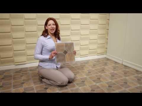 Achim Nexus and Tivoli Floor Tiles - YouTube