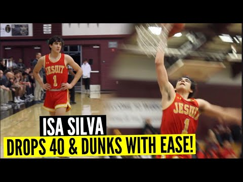 Isa Silva Drops 40 Points With Ease Vs Woodcreek Highlights | Effortless PG Is Banging Out Now!!