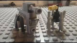 Самоделки#2 AT-TE и дроид паук звёздные войны ЛЕГО