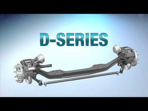 Spicer® E-Series and D-Series Steer Axles