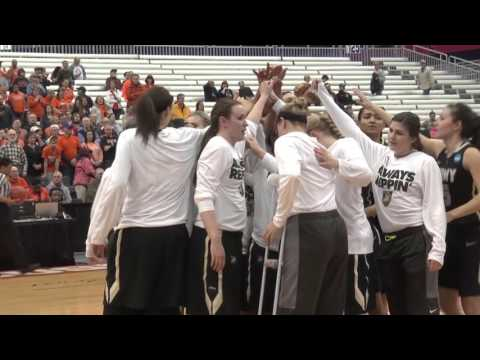 Sights and Sounds: Army West Point Women's Basketball in the 2016 NCAA Tournament