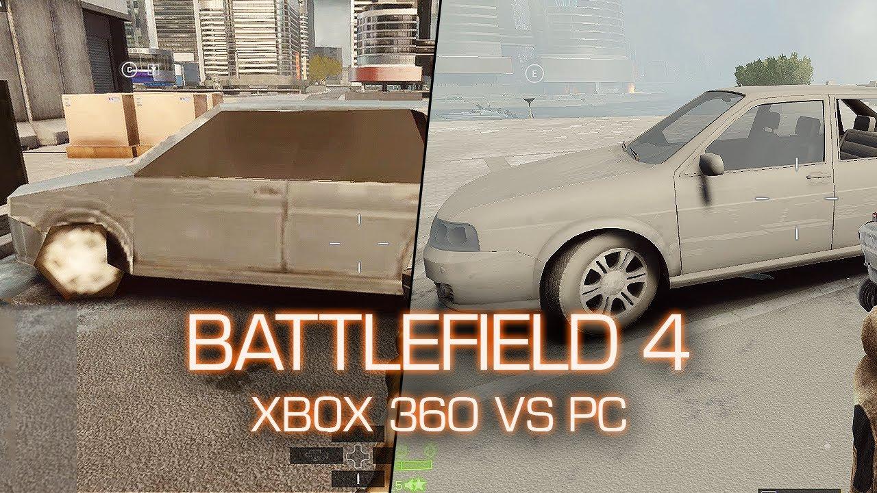 Xbox 360 vs PC Graphics Comparison - Battlefield 4 Beta ...