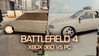 Xbox 360 vs PC Graphics Comparison - Battlefield 4 Beta