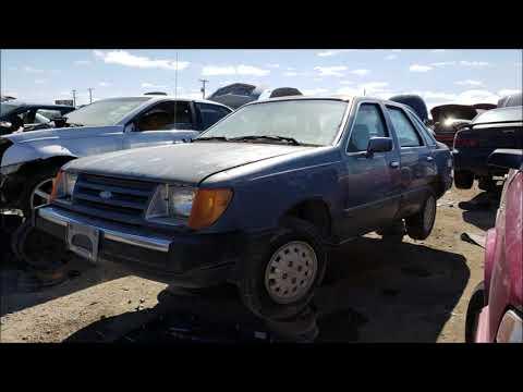 Junked Ford Tempo Sedan 1985 Slideshow