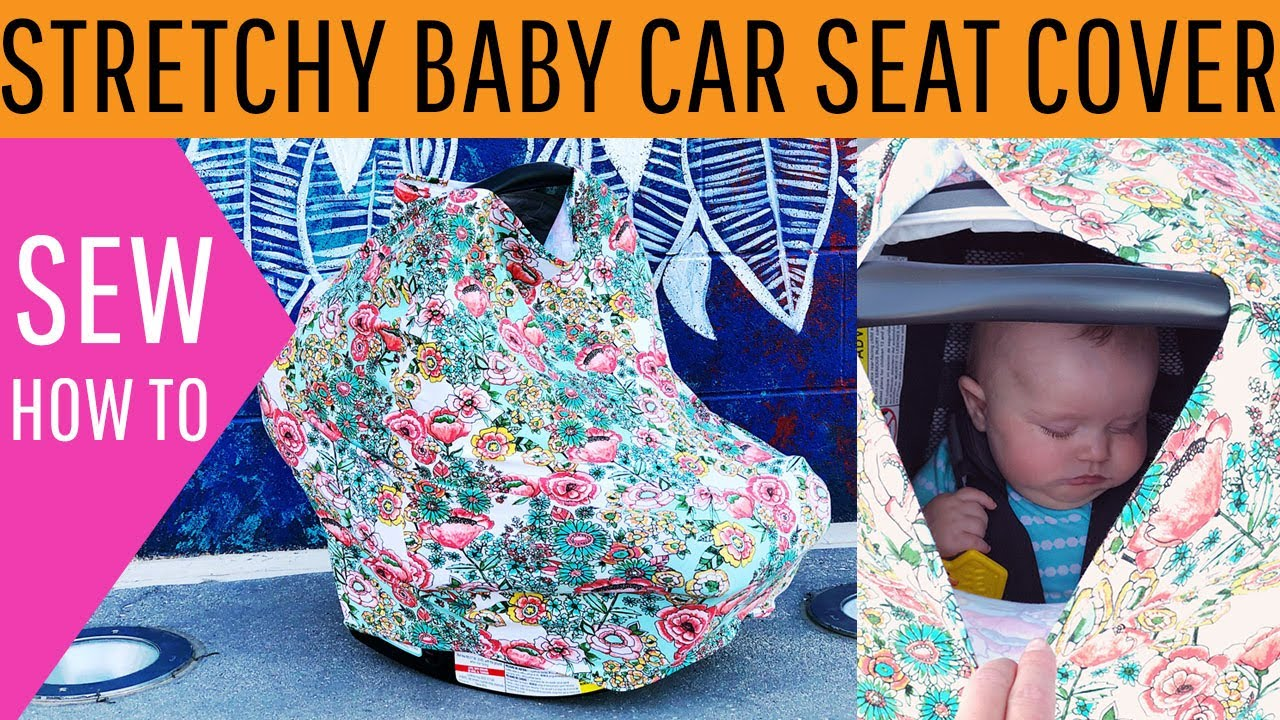 Baby Car Seat Blanket Free Pattern Stretchy Baby Car Seat Cover Diy Free Pattern