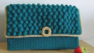 Video Crochet    Tutorial Merajut Dompet Pesta - Bobble Stitch (with English Subtitles) download MP3, 3GP, MP4, WEBM, AVI, FLV Mei 2018