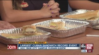 Abc Action News: Largest Cuban Sandwich Record To Be Set