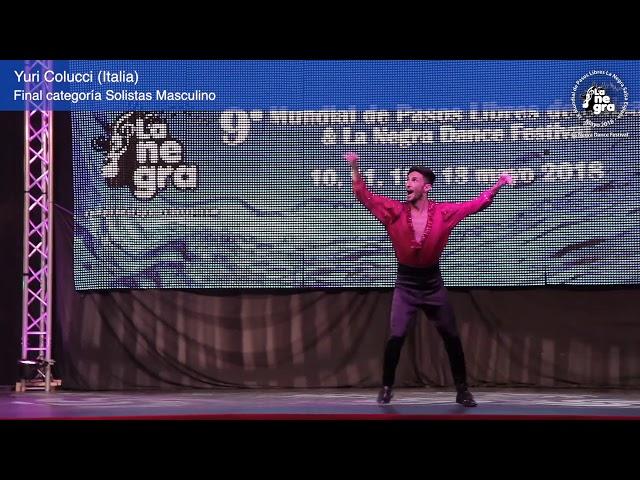 Final Solista Masculino - Yuri Colucci - 9º Mundial de Pasos Libres 2018