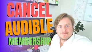 How To Cancel Audible Membership Through Amazon
