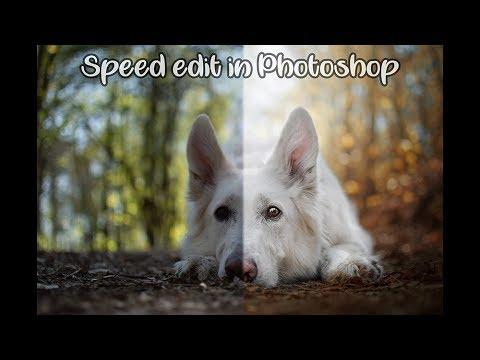 Adobe Photoshop tutorial 5 (speed-up edit) thumbnail