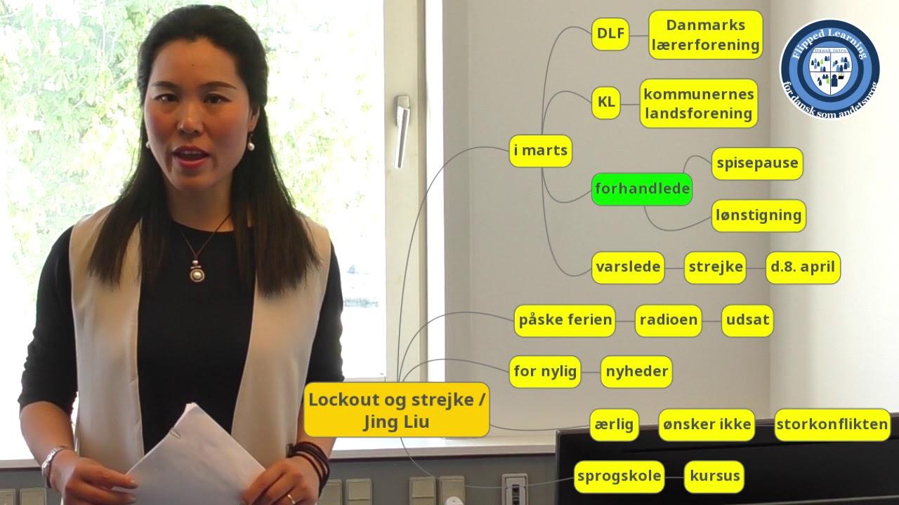Dansk waystage: 'lockout og strejke' - kursistpræsentation, Jing (DU 3.2)