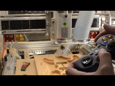 How to use Xbox controllers and other GamePads with Mach3 and CNC Router Parts Machines