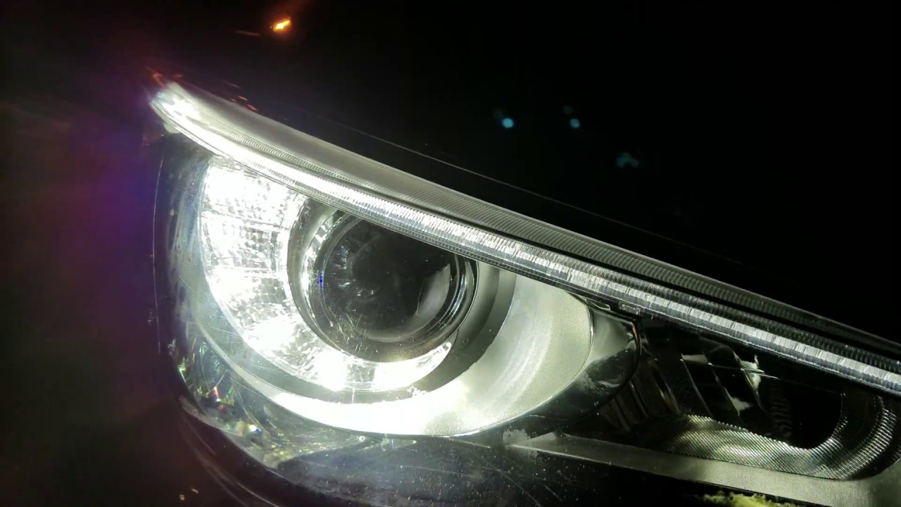 2015 Infiniti Q50 LED Projector Headlamps, Foglamps & DRL's