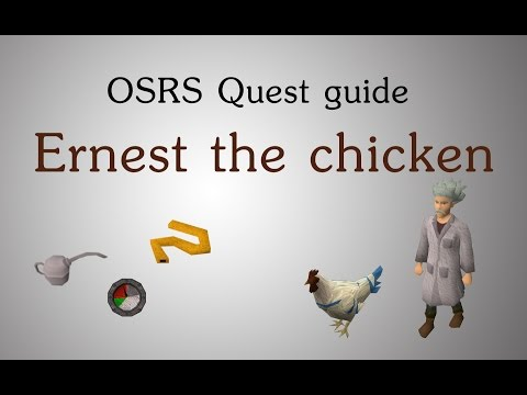 [OSRS] Ernest the chicken quest guide