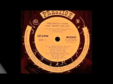 Prestige 7075 Thelonious Monk & Sonny Rollins play I Want to be Happy