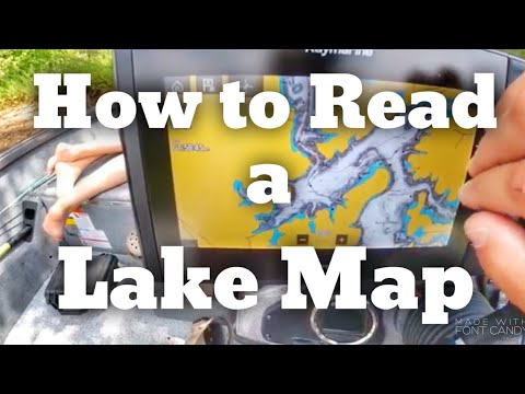 How To Read A Lake Map To Find Fish - Fishing