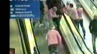 Manchester United fans fight with 'Where's Wally' stag party at Piccadilly Station