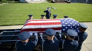 Air Force Honor Guard Body Bearers
