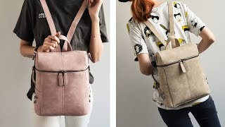 видео Купить женский рюкзак в Москве в интернет-магазине по низкой цене