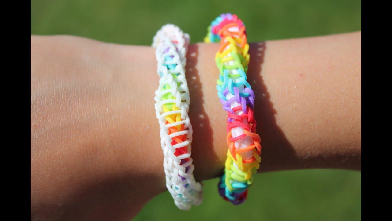rainbow loom nederlands spirilla armband youtube. Black Bedroom Furniture Sets. Home Design Ideas