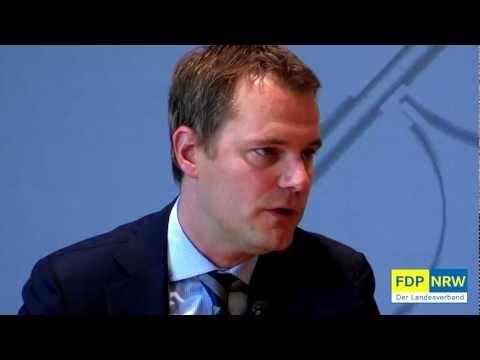 FDP-NRW Pressekonferenz - Daniel Bahr