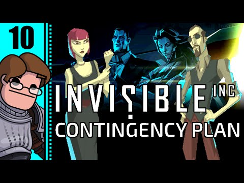 Let's Play Invisible, Inc. Contingency Plan Part 10 - Day 4: Monst3r's Contingency Plan