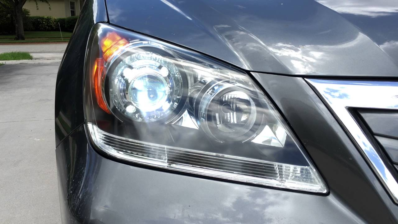 Honda Odyssey Retrofit Headlights