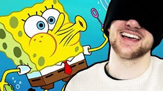 Reciting an ENTIRE episode of Spongebob BLINDFOLDED