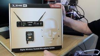Line 6 XD V55HS Digital Wireless Headset Mic System Unboxing
