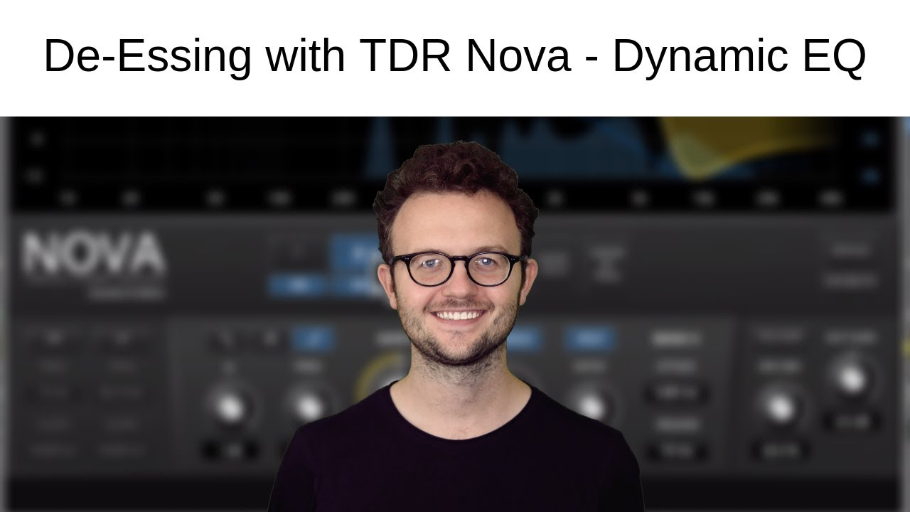 Using TDR Nova as a De-Esser — Dynamic EQ Tutorial