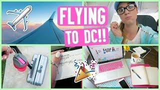 FLYING TO DC WITH ALISHA!! PLAYLIST LIVE DC!!