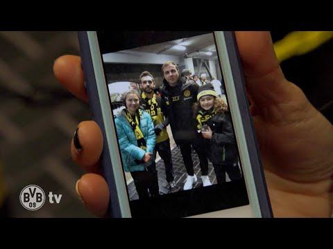BVB-Crazy Family from the USA visits Dortmund!