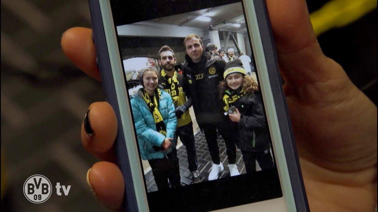 BVB-verrückte Familie aus den USA besucht Dortmund |