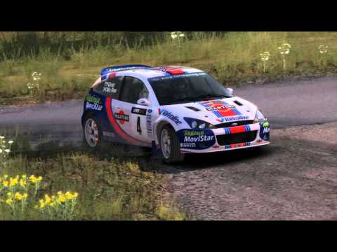 Dirt Rally TV Replay  Colin Mcrae, Germany, Focus WRC 2001