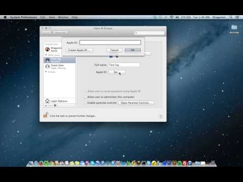 Apple Mac Users and Groups Management