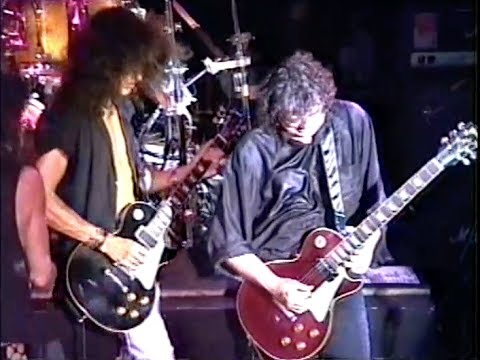 Jimmy Page with Aerosmith 1990 (Marquee Club)