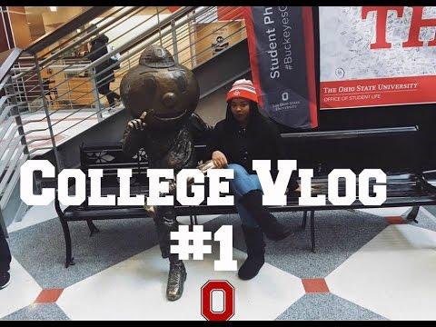 College Vlog #1 | The Ohio State University campus