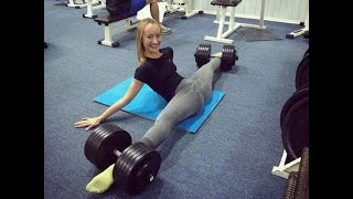 EPIC GYM FAILS | TRY NOT TO LOOK AWAY | GIRLS EDITION