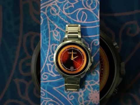 Versace Watch Face On Armani Exchange Connected Smartwatch