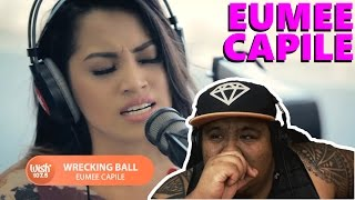 Eumee Capile - Wrecking Ball by Miley Cyrus [MUSIC REACTION]