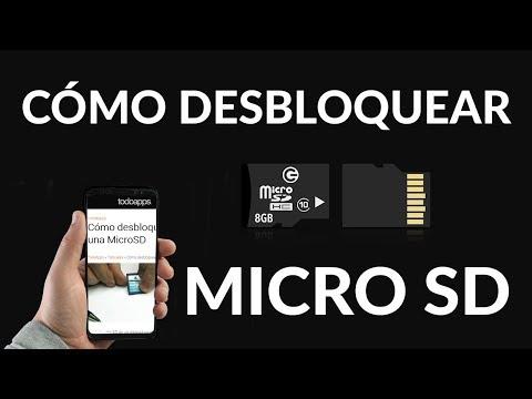 Cómo Desbloquear una Tarjeta SD/MicroSD