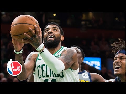 Kyrie Irving uses handles to score game winner vs. Pacers | NBA Highlights thumbnail