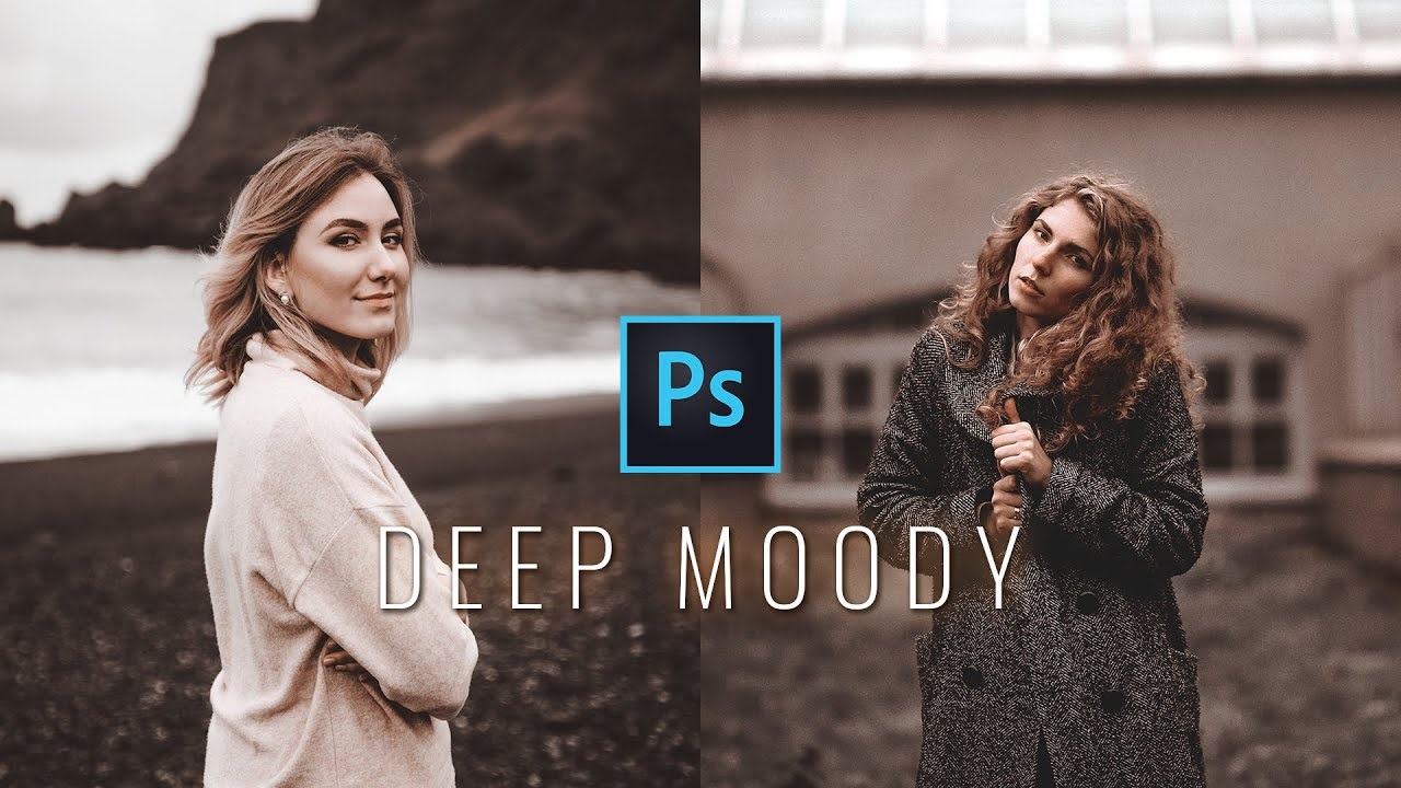 Deep Moody Color Grading Effect in Photoshop