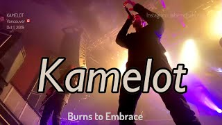 KAMELOT - 10 Burns to Embrace @VENUE, Vancouver, Canada - October 1, 2019 - 4K LIVE
